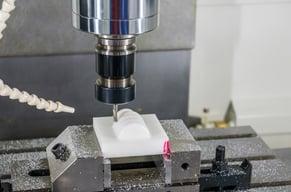 CNC Machining of plastic material