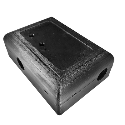 Black box produced via FDM technology